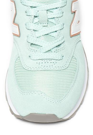 New Balance Pantofi sport cu insertii de piele intoarsa Classic 574 Femei
