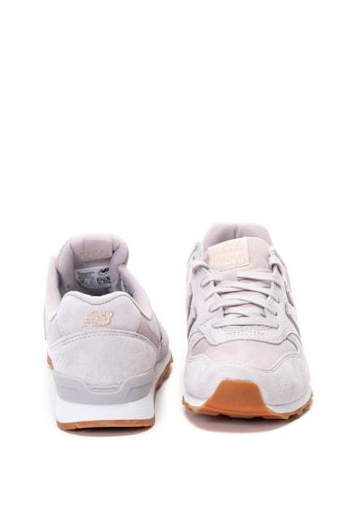 New Balance 996 nyersbőr sneakers cipő textilbetétekkel női