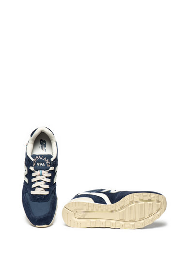 New Balance 996 sneaker nyersbőr szegélyekkel női