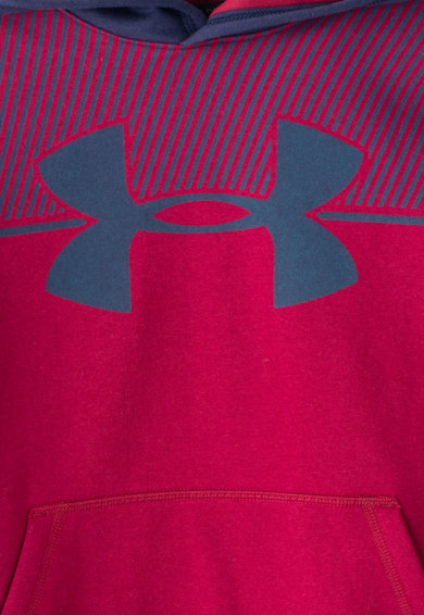 Under Armour Hanorac cu imprimeu logo cu captuseala din fleece Baieti