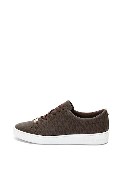 Michael Kors Pantofi sport de piele ecologica, cu model logo Keaton Femei
