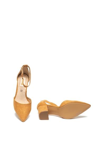 MTNG Pantofi D'Orsay de piele intoarsa ecologica Femei