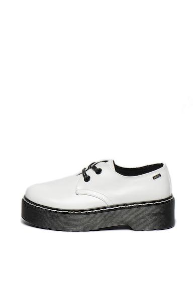 MTNG Pantofi de piele ecologica, cu platforma Femei