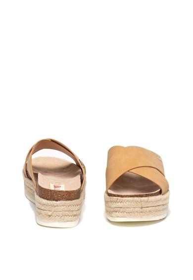 MTNG Sandale slip-on tip espadrile cu talpa plata Femei