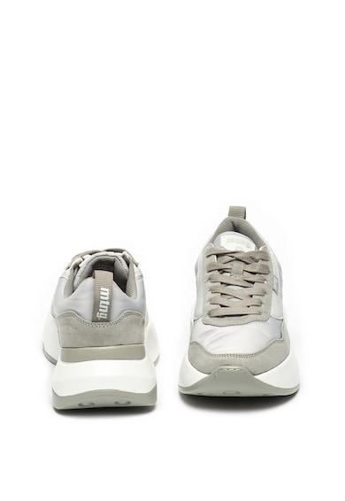 MTNG Pantofi sport cu garnituri de piele intoarsa ecologica Femei