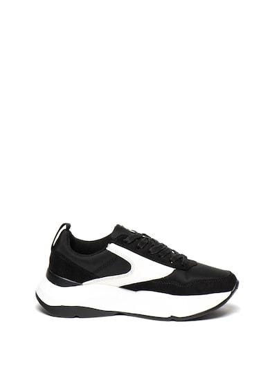 MTNG Pantofi sport cu imprimeu logo si garnituri de piele ecologica Femei