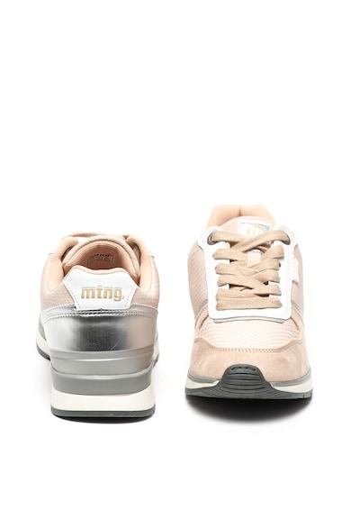 MTNG Pantofi sport de piele ecologica si piele intoarsa ecologica Femei