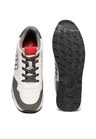 MTNG Pantofi sport de piele nabuc ecologica cu Breath System Barbati