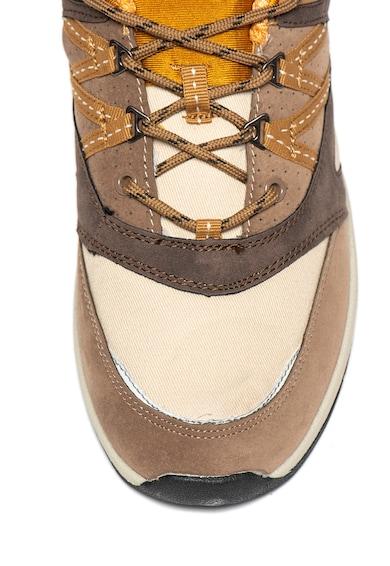 MTNG Pantofi sport de piele intoarsa ecologica si material textil Barbati