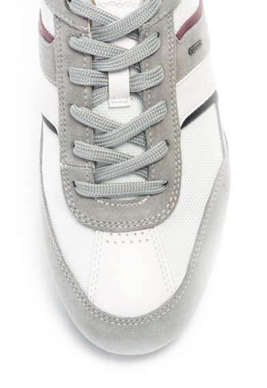 Geox Pantofi sport cu garnituri de piele intoarsa Wells Barbati