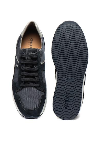 Geox Dennie sneaker nyersbőr szegélyekkel férfi