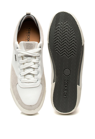 Geox Pantofi sport cu insertii de piele intoarsa Kaven Barbati