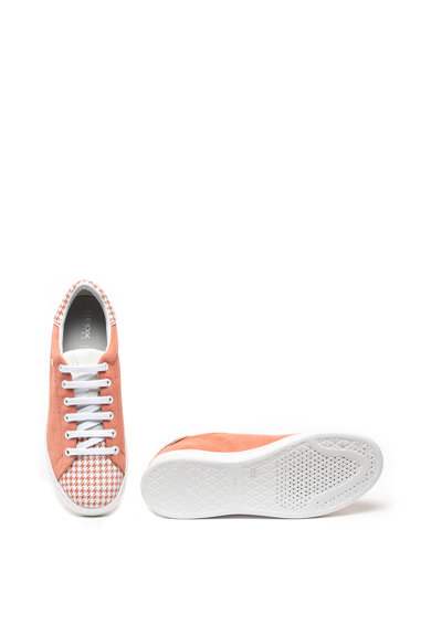 Geox Jaysen nyersbőr sneaker tyúklábmintás részletekkel női