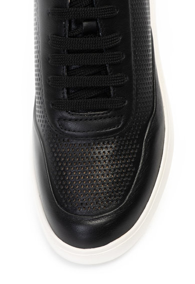 Geox Rubidia bőr sneaker cipő perforált dizájnnal női