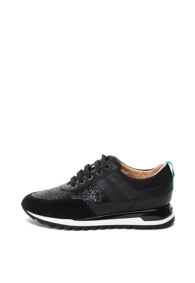 Geox Tabelya sneaker cipő bőr és műbőr szegéllyel női