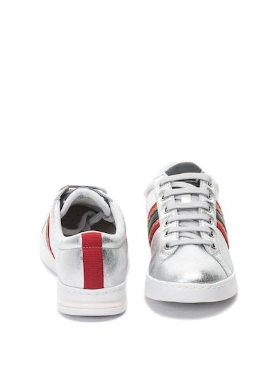 Geox Pantofi sport de material textil si piele Jaysen Femei