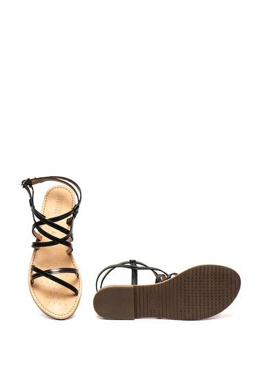 Geox Sandale de piele ecologica cu garnituri de piele Sozy Femei