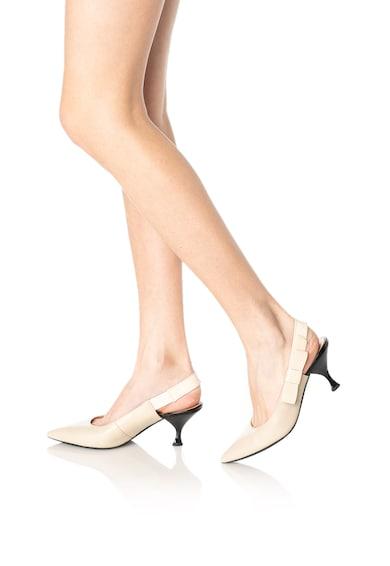 Geox Elisangel bőrcipő törpesarokkal női