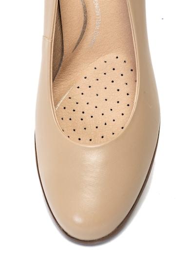 Geox Кожени обувки Anny с масивен ток Жени
