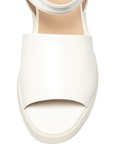 Geox Sandale wedge cu aspect lacuit Wimbley Femei