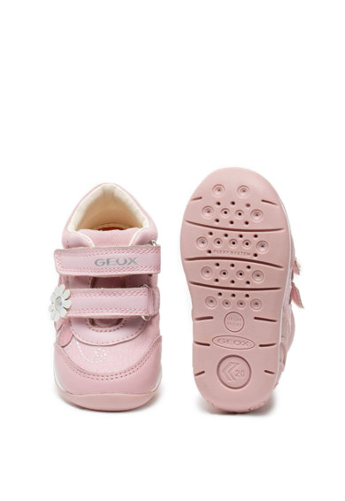 Geox Спортни обувки Each от текстил и еко кожа с велкро Момичета