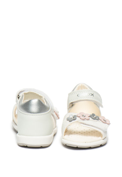 Geox Sandale de piele cu detalii florale Verred Fete