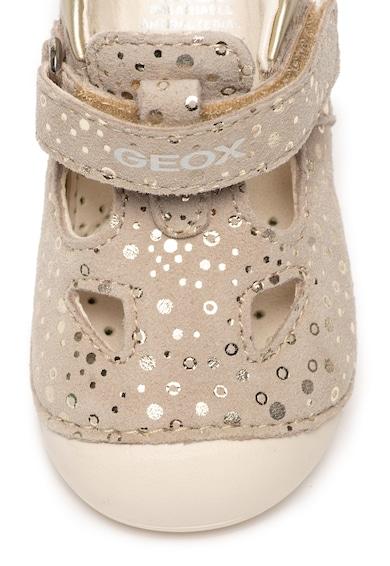 Geox Обувки RespiraⓇ Tutim от велур с велкро Момичета