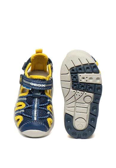 Geox Sandale cu garnituri de piele ecologica Multy Baieti