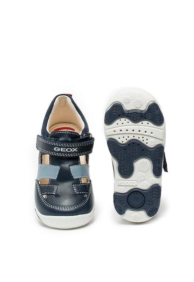 Geox New Balu bőrcipő kivágásokkal Fiú