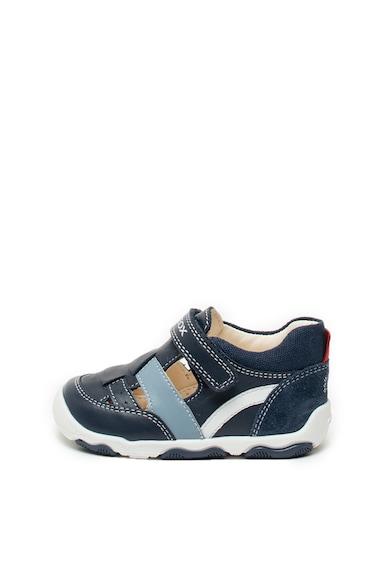 Geox Кожени обувки New Balu с отвори Момчета