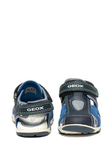 Geox Sandale din material respirabil cu garnituri de piele Baieti
