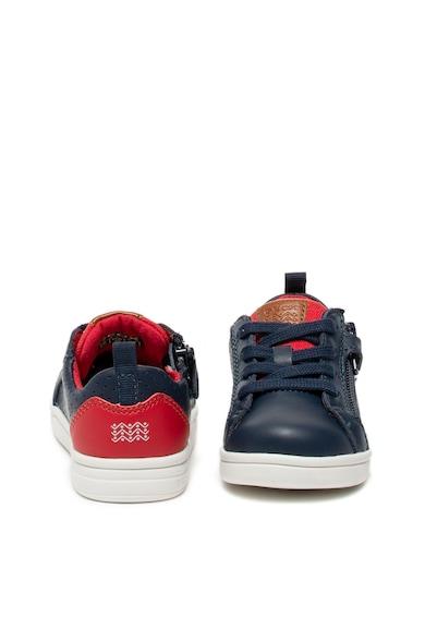 Geox DjRock bőr és műbőr sneaker Fiú