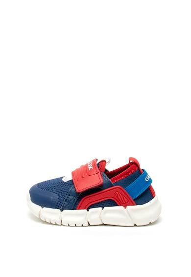 Geox Flexyper tépőzáras sneaker műbőr szegélyekkel Fiú