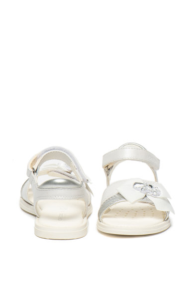 Geox Sandale de piele cu detaliu cu funda Karly Fete
