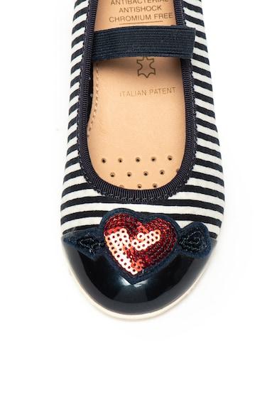 Geox Pantofi Mary Jane cu paiete Plie Fete