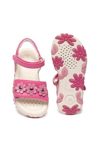 Geox Sandale cu aplicatii florale Hahiti Fete