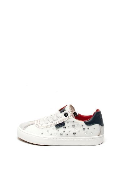 Geox Kilwi textil és bőr sneaker Lány