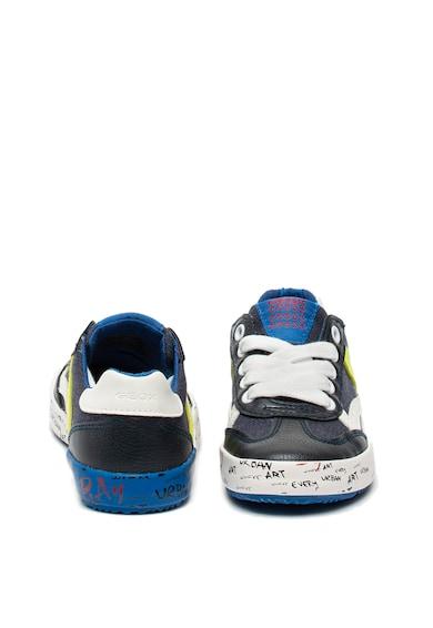 Geox Alonisso műbőr és textil sneaker Fiú