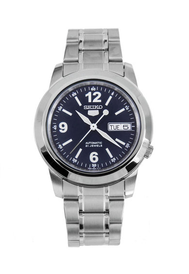 Seiko Автоматичен часовник с метална верижка Мъже