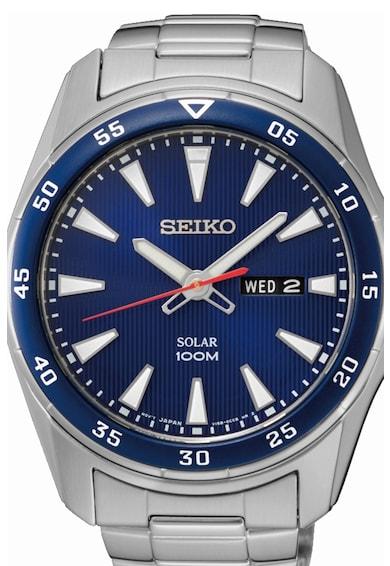 Seiko Часовник с каишка от неръждаема стомана Мъже