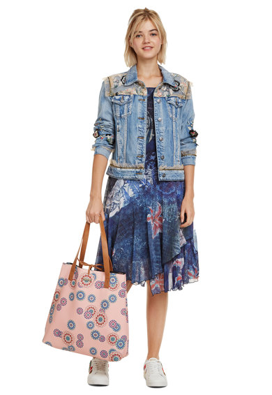 DESIGUAL Mandri hímzett táska női