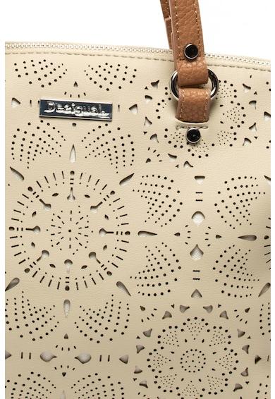 DESIGUAL Gela műbőr kézitáska kivágásokkal női