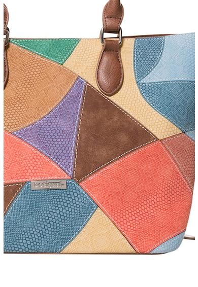 DESIGUAL Jackie tote fazonú műbőr táska női