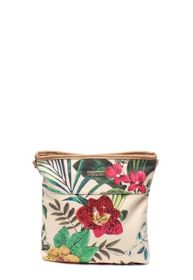 DESIGUAL Kaua műbőr virágmintás válltáska női