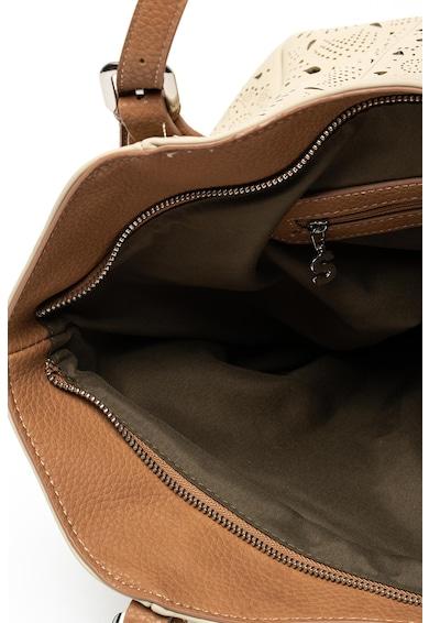 DESIGUAL Rotterdam műbőr táska perforációkkal női