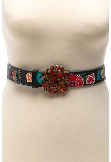 DESIGUAL Mexico virágmintás öv női