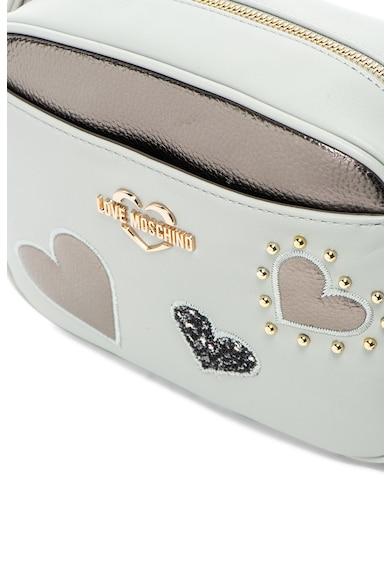 Love Moschino Чанта от еко кожа с апликации Жени