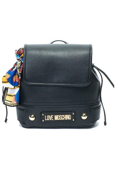 Love Moschino Раница от еко кожа с лого Жени
