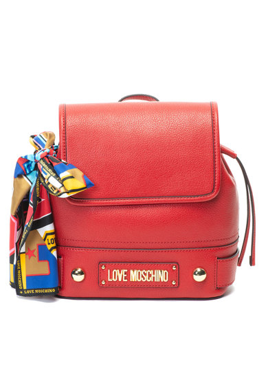Love Moschino Műbőr hátizsák kendővel női