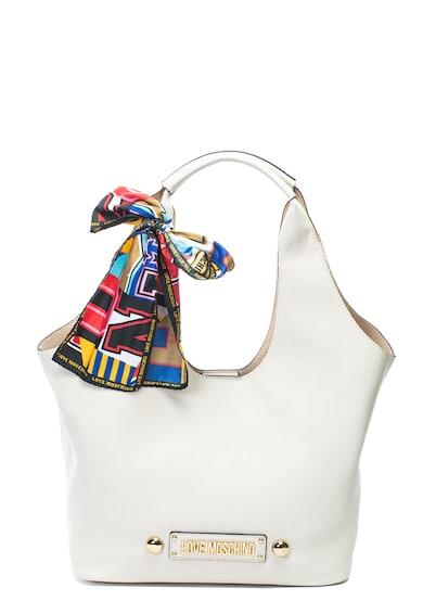 Love Moschino Műbőr hobo táska kendővel női